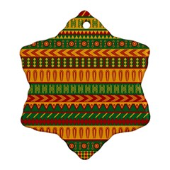 Mexican Pattern Ornament (snowflake)