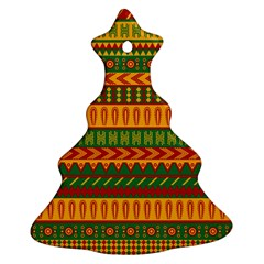 Mexican Pattern Ornament (christmas Tree)