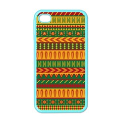 Mexican Pattern Apple Iphone 4 Case (color)