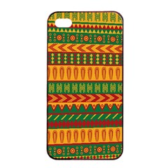 Mexican Pattern Apple Iphone 4/4s Seamless Case (black)
