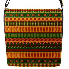 Mexican Pattern Flap Messenger Bag (s)