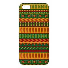 Mexican Pattern Iphone 5s/ Se Premium Hardshell Case