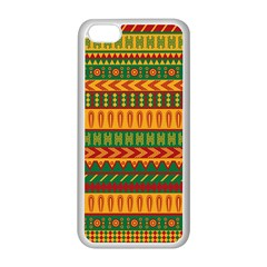 Mexican Pattern Apple Iphone 5c Seamless Case (white)