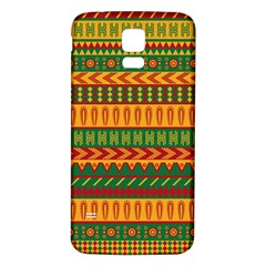 Mexican Pattern Samsung Galaxy S5 Back Case (white)