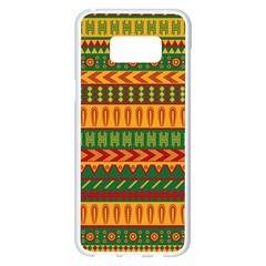 Mexican Pattern Samsung Galaxy S8 Plus White Seamless Case
