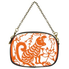 Chinese Zodiac Dog Chain Purses (one Side)