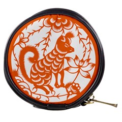 Chinese Zodiac Dog Mini Makeup Bags