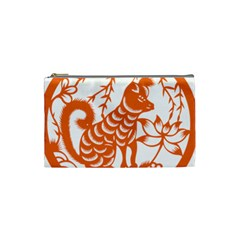 Chinese Zodiac Dog Cosmetic Bag (small)
