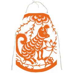 Chinese Zodiac Dog Full Print Aprons