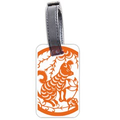 Chinese Zodiac Dog Luggage Tags (one Side)
