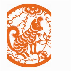 Chinese Zodiac Dog Small Garden Flag (two Sides)