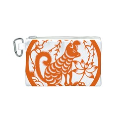 Chinese Zodiac Dog Canvas Cosmetic Bag (s)