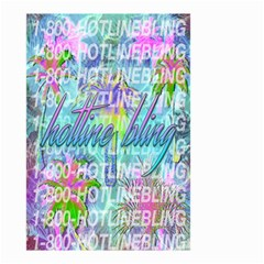 Drake 1 800 Hotline Bling Small Garden Flag (two Sides)