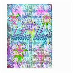 Drake 1 800 Hotline Bling Large Garden Flag (two Sides)