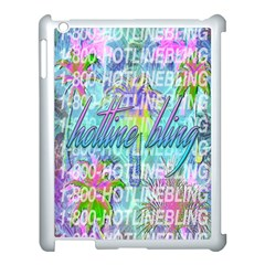 Drake 1 800 Hotline Bling Apple Ipad 3/4 Case (white)