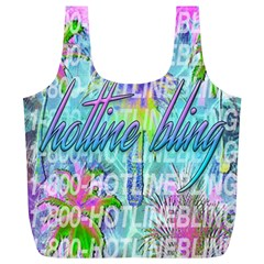 Drake 1 800 Hotline Bling Full Print Recycle Bags (l)