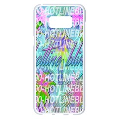 Drake 1 800 Hotline Bling Samsung Galaxy S8 Plus White Seamless Case