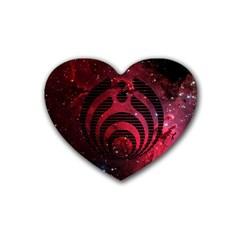 Bassnectar Galaxy Nebula Rubber Coaster (heart)