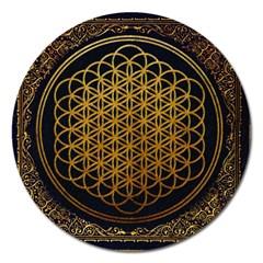 Bring Me The Horizon Cover Album Gold Magnet 5  (round)