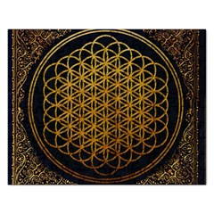 Bring Me The Horizon Cover Album Gold Rectangular Jigsaw Puzzl