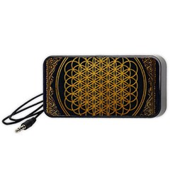 Bring Me The Horizon Cover Album Gold Portable Speaker (black)