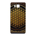 Bring Me The Horizon Cover Album Gold Samsung Galaxy Alpha Hardshell Back Case Front