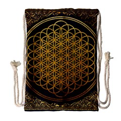 Bring Me The Horizon Cover Album Gold Drawstring Bag (large)