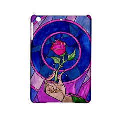 Enchanted Rose Stained Glass Ipad Mini 2 Hardshell Cases