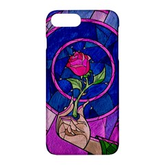 Enchanted Rose Stained Glass Apple Iphone 7 Plus Hardshell Case