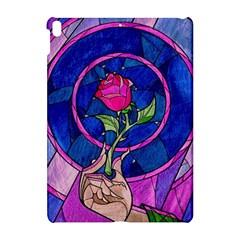 Enchanted Rose Stained Glass Apple Ipad Pro 10 5   Hardshell Case