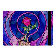 Enchanted Rose Stained Glass Apple Ipad Pro 10 5   Flip Case