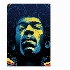 Gabz Jimi Hendrix Voodoo Child Poster Release From Dark Hall Mansion Small Garden Flag (two Sides)