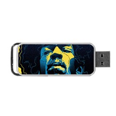 Gabz Jimi Hendrix Voodoo Child Poster Release From Dark Hall Mansion Portable Usb Flash (two Sides)