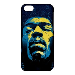 Gabz Jimi Hendrix Voodoo Child Poster Release From Dark Hall Mansion Apple Iphone 5c Hardshell Case