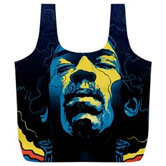 Gabz Jimi Hendrix Voodoo Child Poster Release From Dark Hall Mansion Full Print Recycle Bags (l)