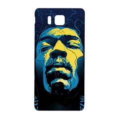 Gabz Jimi Hendrix Voodoo Child Poster Release From Dark Hall Mansion Samsung Galaxy Alpha Hardshell Back Case