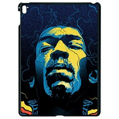Gabz Jimi Hendrix Voodoo Child Poster Release From Dark Hall Mansion Apple Ipad Pro 9 7   Black Seamless Case
