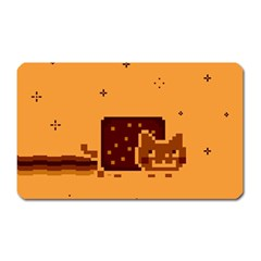 Nyan Cat Vintage Magnet (rectangular)