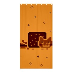 Nyan Cat Vintage Shower Curtain 36  X 72  (stall)