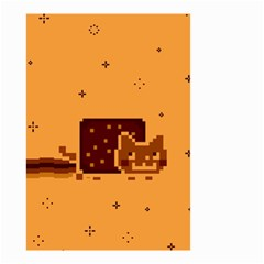 Nyan Cat Vintage Small Garden Flag (two Sides)