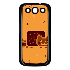 Nyan Cat Vintage Samsung Galaxy S3 Back Case (black)