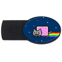 Nyan Cat Usb Flash Drive Oval (2 Gb)
