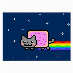 Nyan Cat Large Glasses Cloth (2 Side)