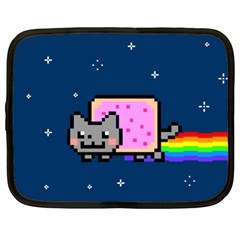 Nyan Cat Netbook Case (xl)