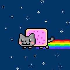 Nyan Cat Magic Photo Cubes