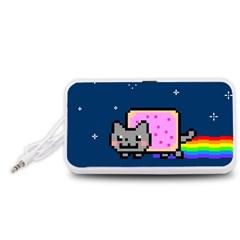 Nyan Cat Portable Speaker (white)