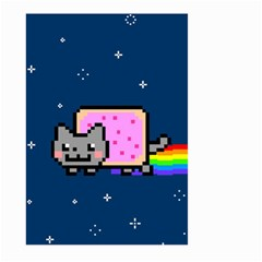 Nyan Cat Large Garden Flag (two Sides)