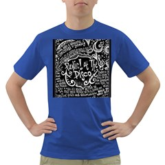 Panic ! At The Disco Lyric Quotes Dark T Shirt