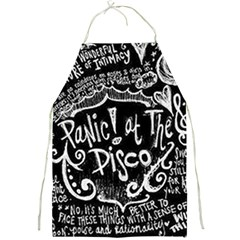 Panic ! At The Disco Lyric Quotes Full Print Aprons