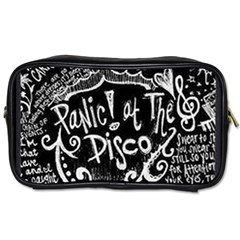 Panic ! At The Disco Lyric Quotes Toiletries Bags 2 Side